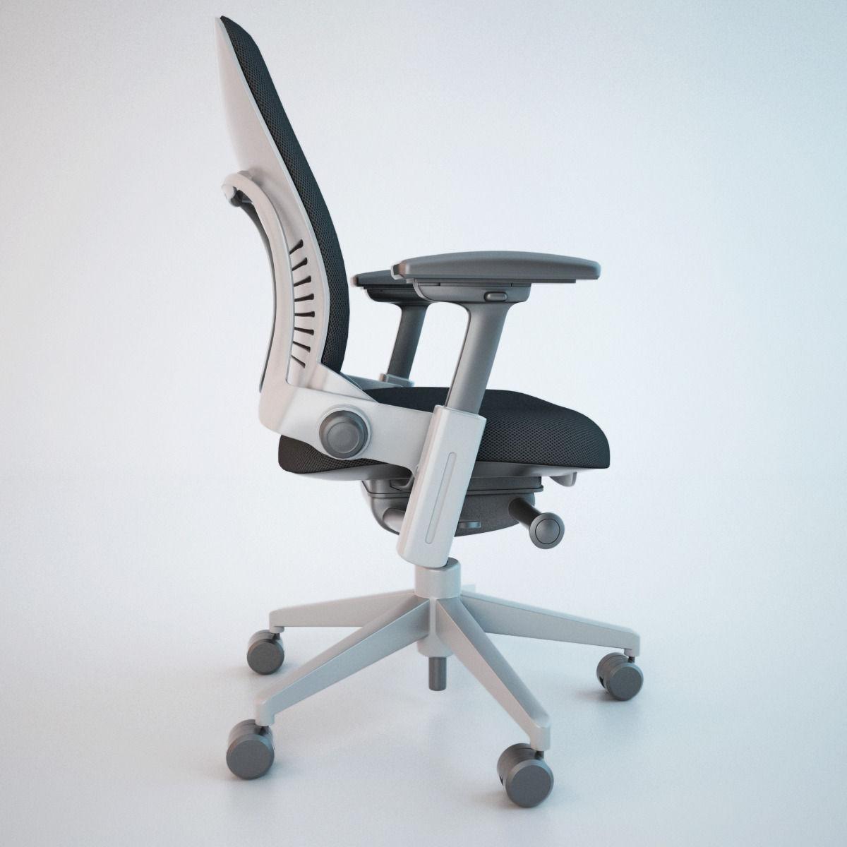 ... Steelcase Leap Office Chair 3d Model Max Obj Fbx 8 ...