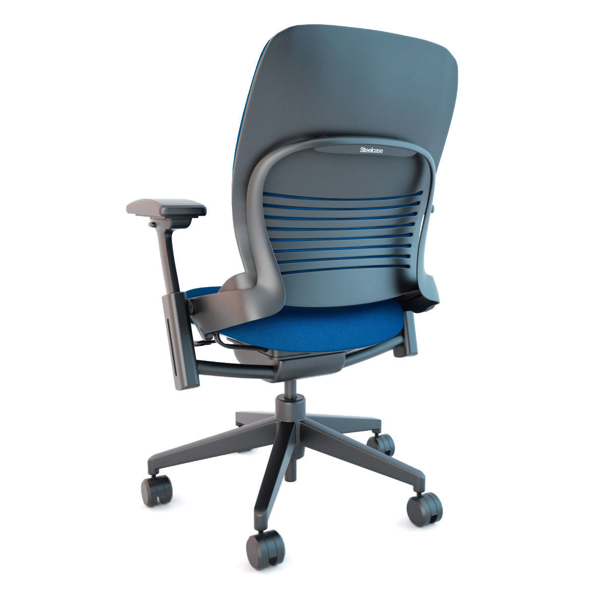 Steelcase leap office chair 3d model max obj fbx - Steelcase leap ergonomic office chair ...