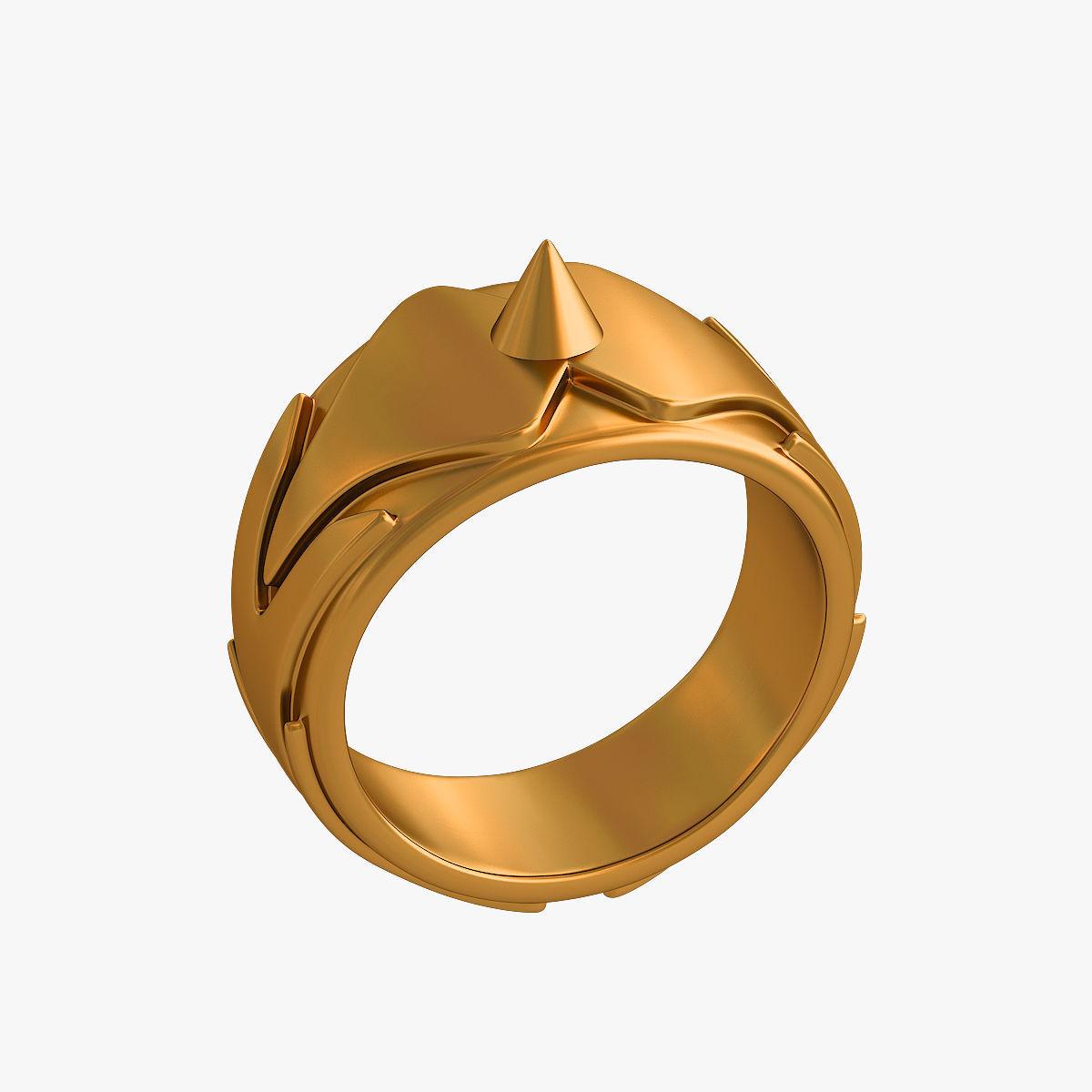 Self-defense ring