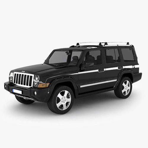 Model Jeep Commander Suv Cgtrader