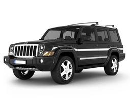 3D model Jeep Commander SUV