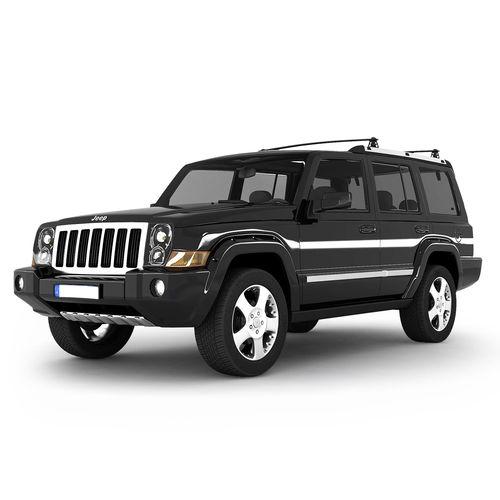 2009 Jeep Commander Exterior: 3D Model Jeep Commander SUV