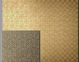 Panel lattice grille 3D 4