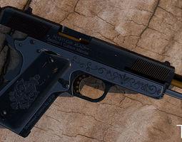 3d model colt 1911 pistol