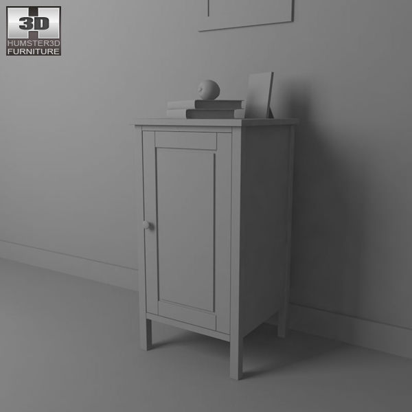 Ikea Schuhschrank Hemnes Gebraucht ~ bedside table 2 3d model ikea hemnes bedside table 2 3d model bedside