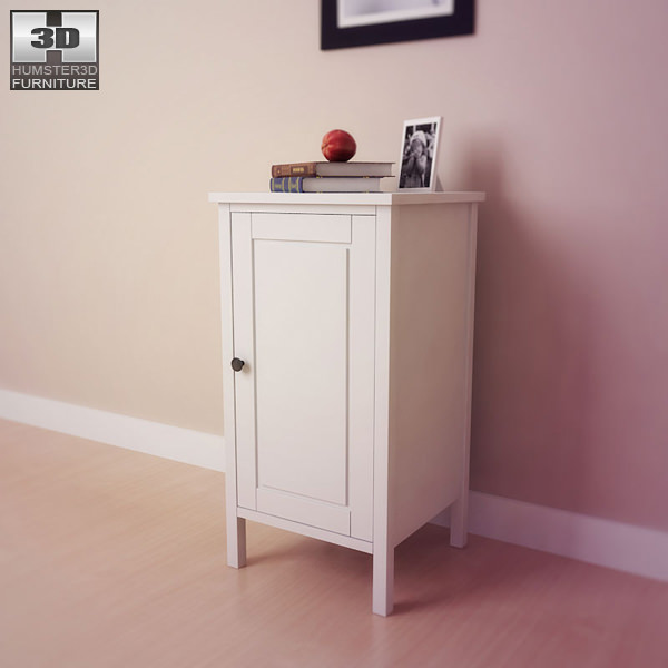 Ikea Hemnes Nightstand White ~ comments 0 ikea hemnes bedside table 2 3d model ikea hemnes