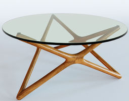 Linda Coffee Table 3D model