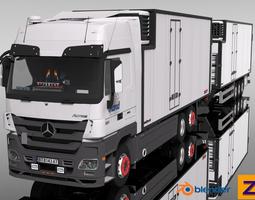 Mercedes Benz Actros Tandem FRC combo 3D