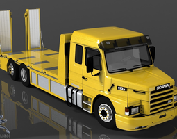 Scania 113H Recovery 3D