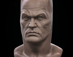Batman Bust v2 3D Model