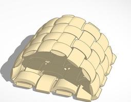 weaved storage case 3d print model