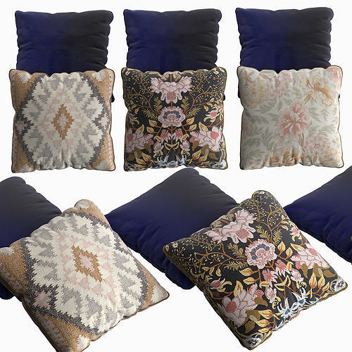 H and M Pillow Set 2