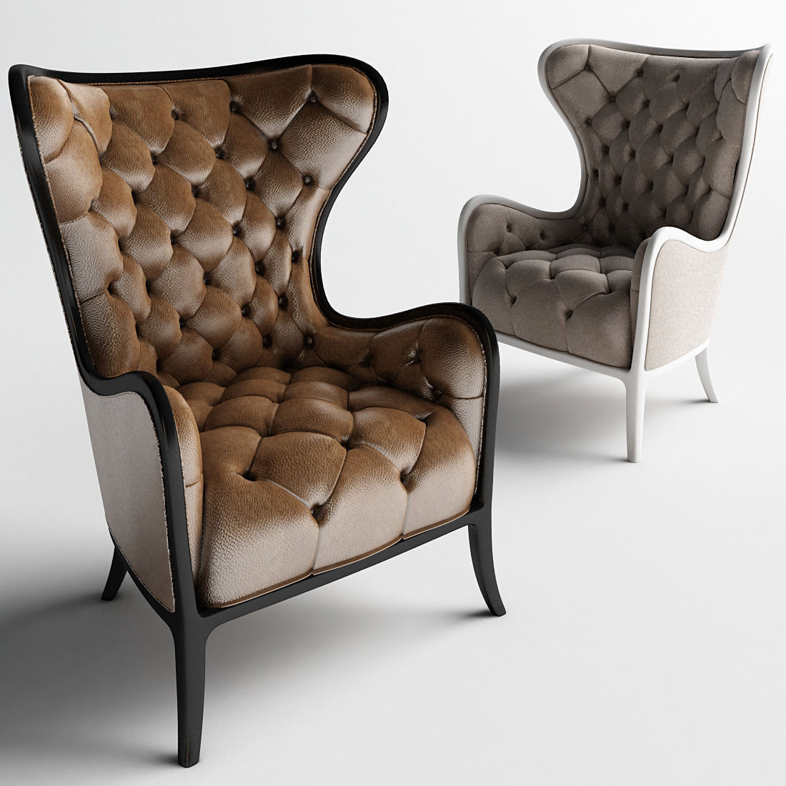 Medea prestige  Tufted Chair and Armchairs