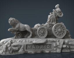 Cibeles 3D asset