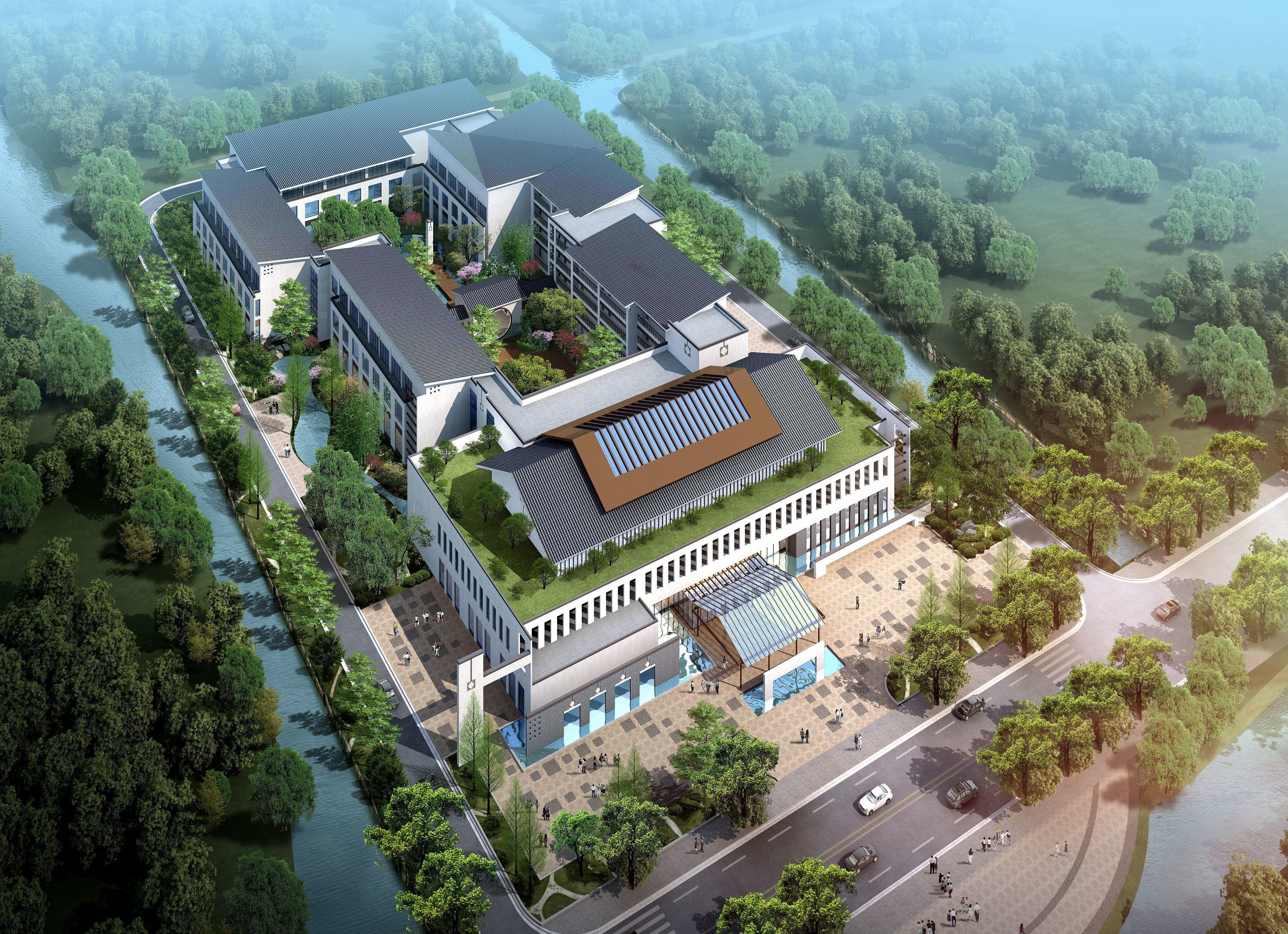 Chinese architecture Construction Villa area