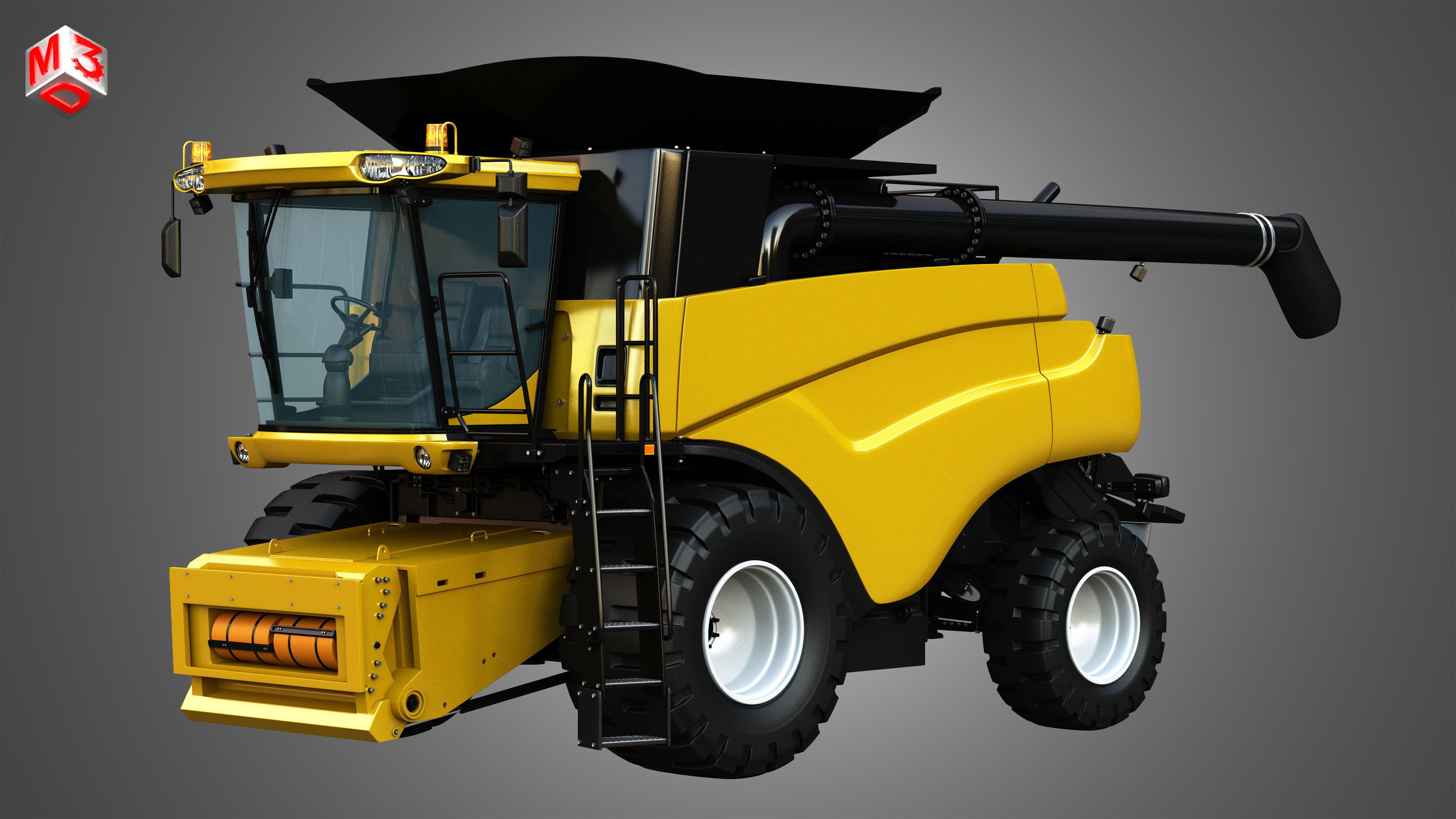 NH - CR 9070 Combine Harvester