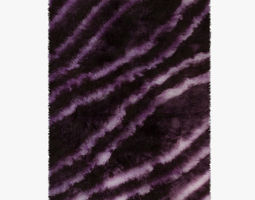 3D Carpet Rainbow Purple