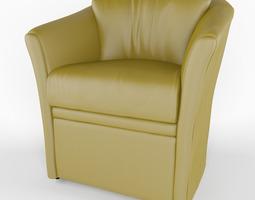 3D model armchair ALFA