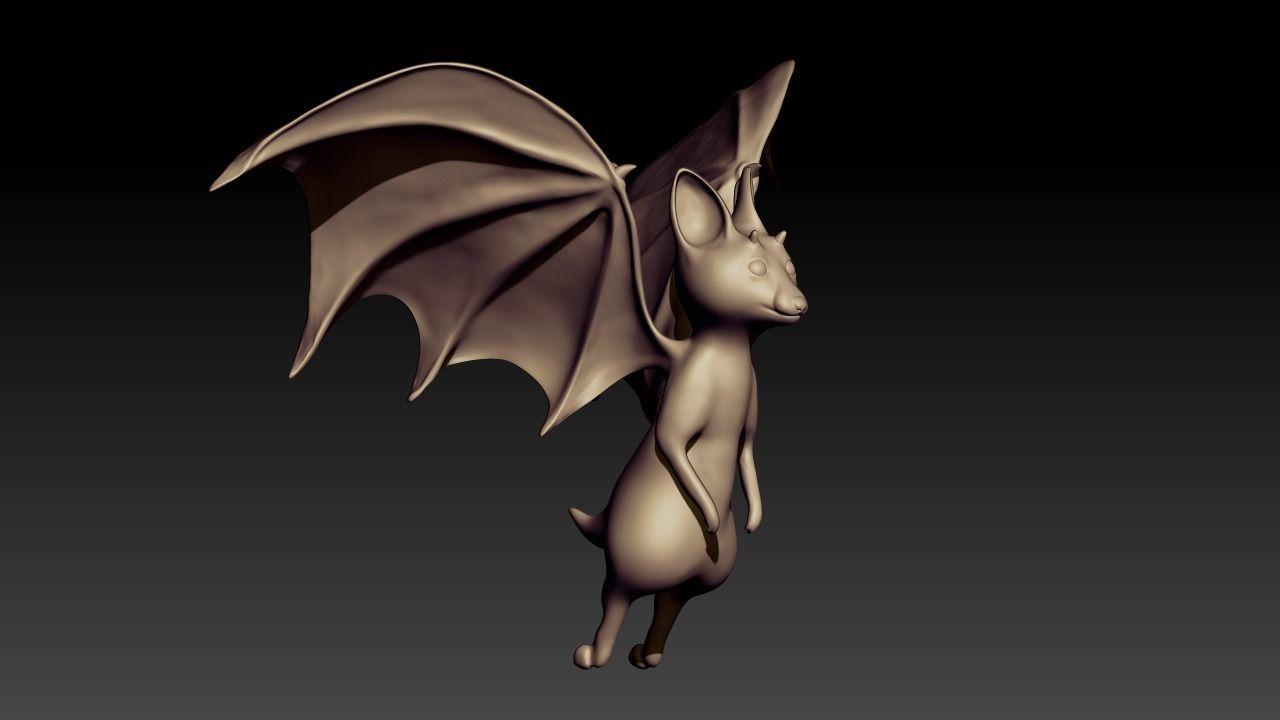 Bat Sculpt