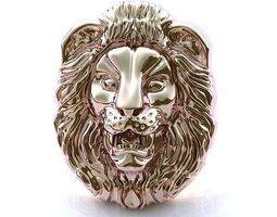 lion pendant 3d printable model