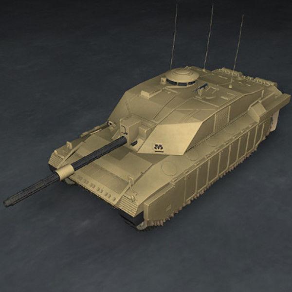 Challenger2 British tank