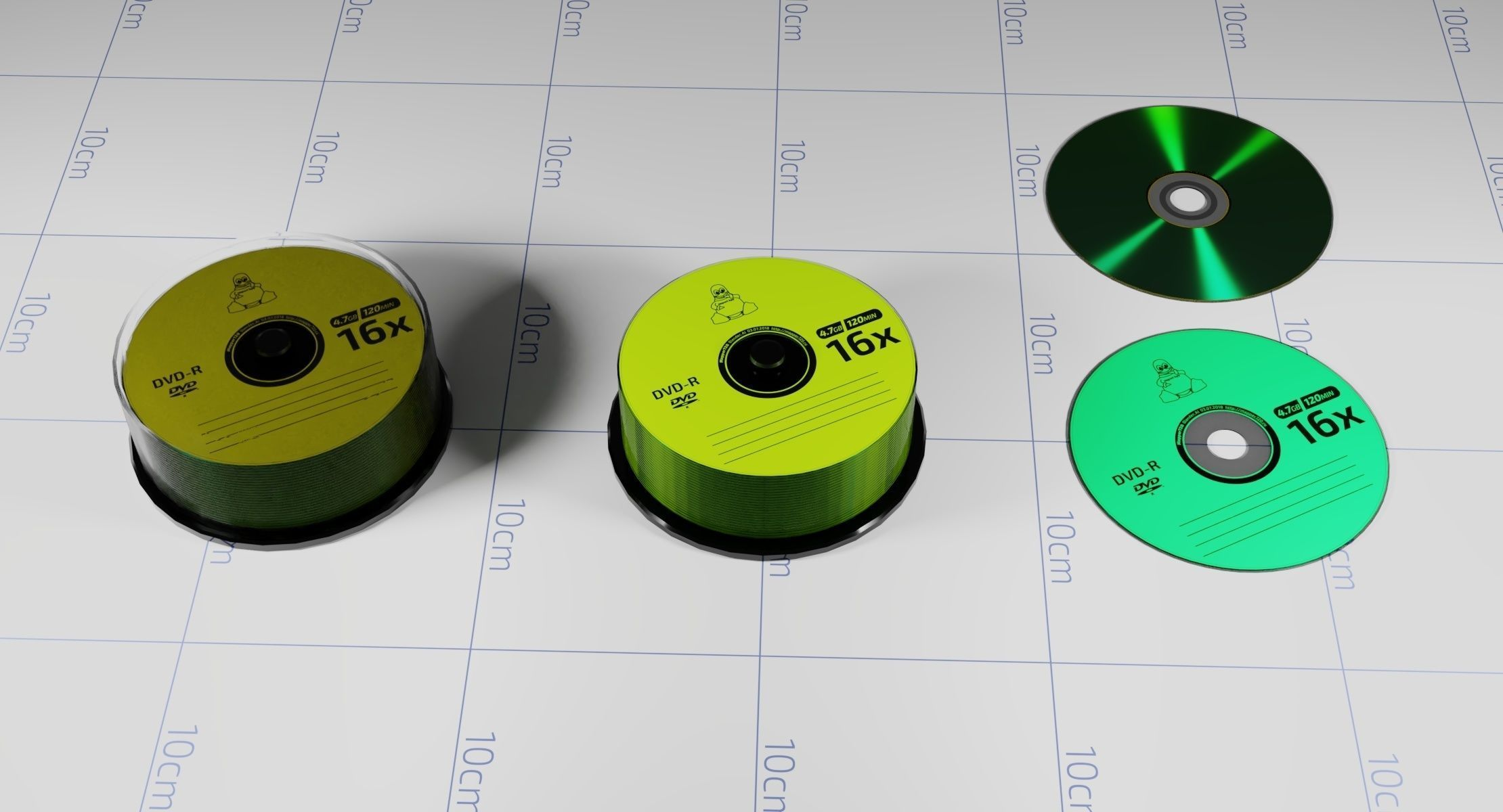 A Collection of Compact-disks