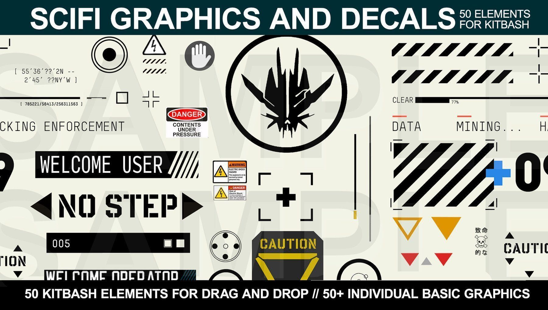 Sci-fi Graphics and Decals