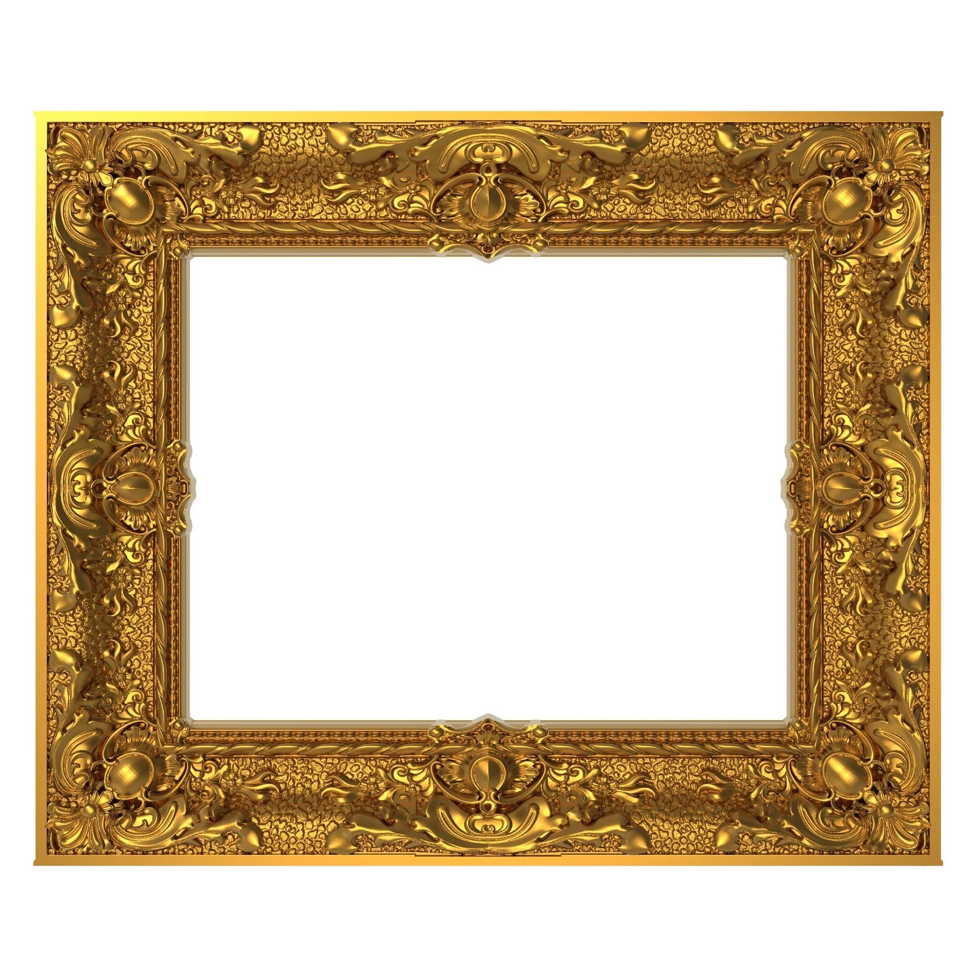 Carved Picture Frame