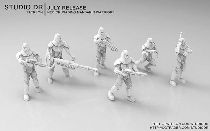Neo Crusading Mandarin Warriors