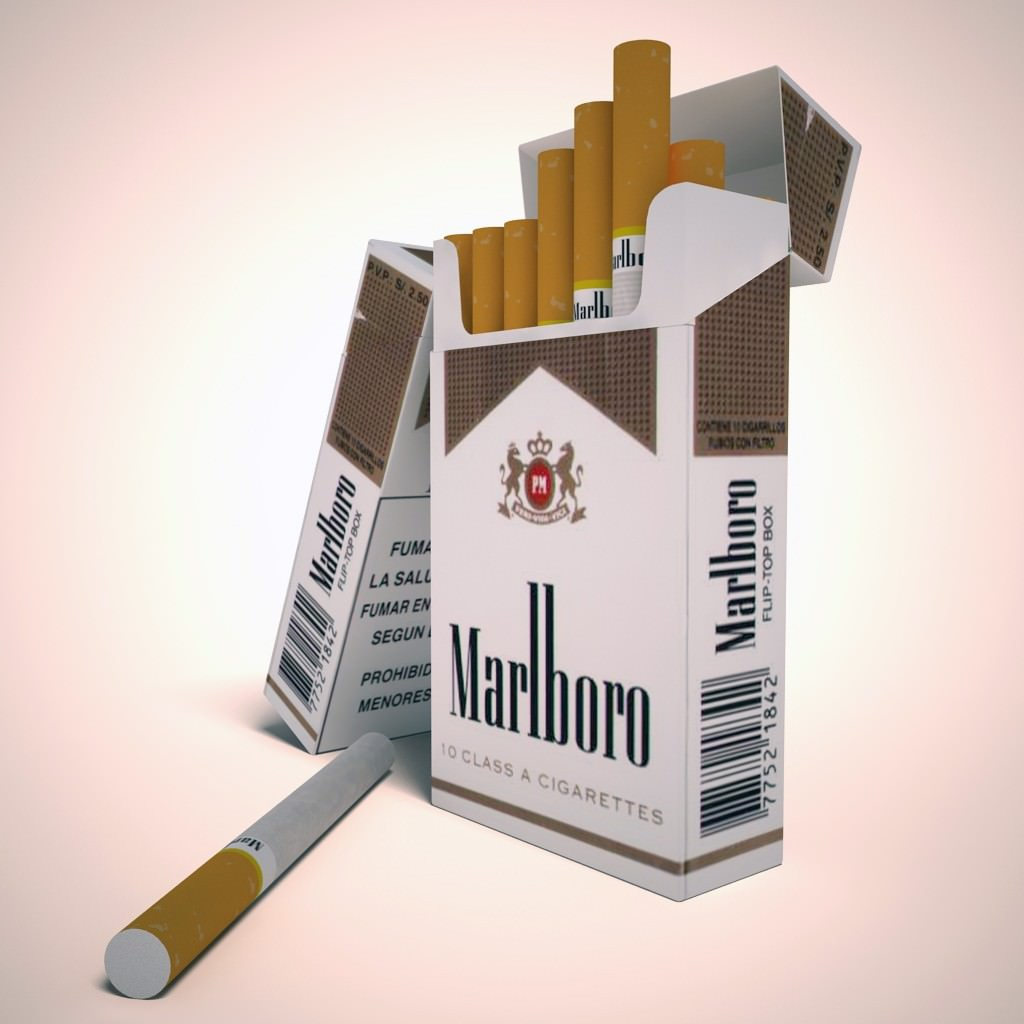 Cheap Marlboro cigarettes made in the USA