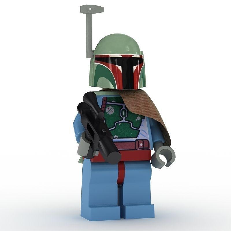 LEGO Minfigure Boba Fett new