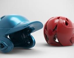 Baseball Helmet 3D print model