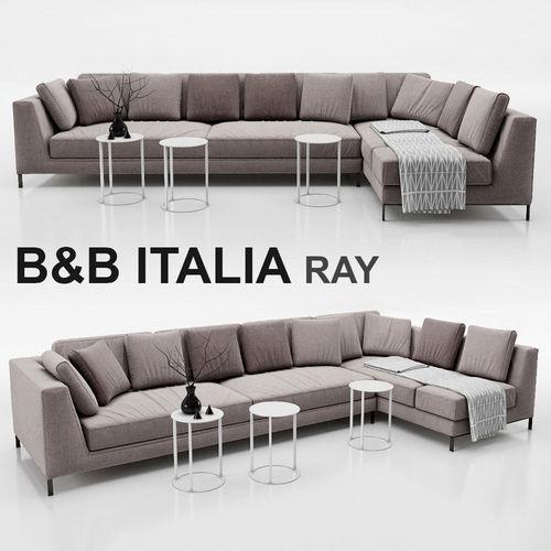 Sofa B And Italia Ray Model Max Obj Mtl Fbx 1