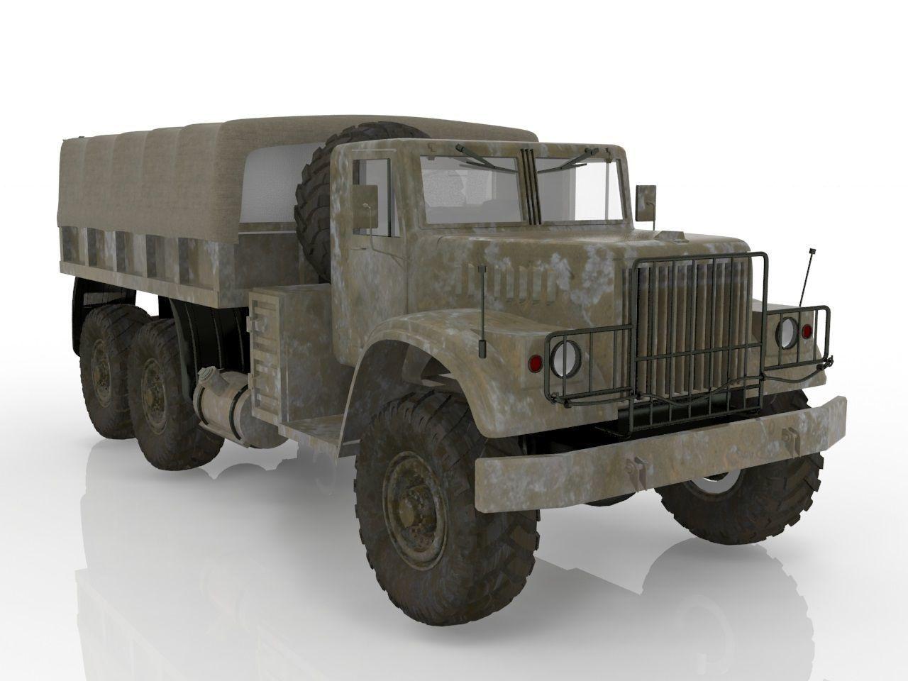 Kraz vehicle