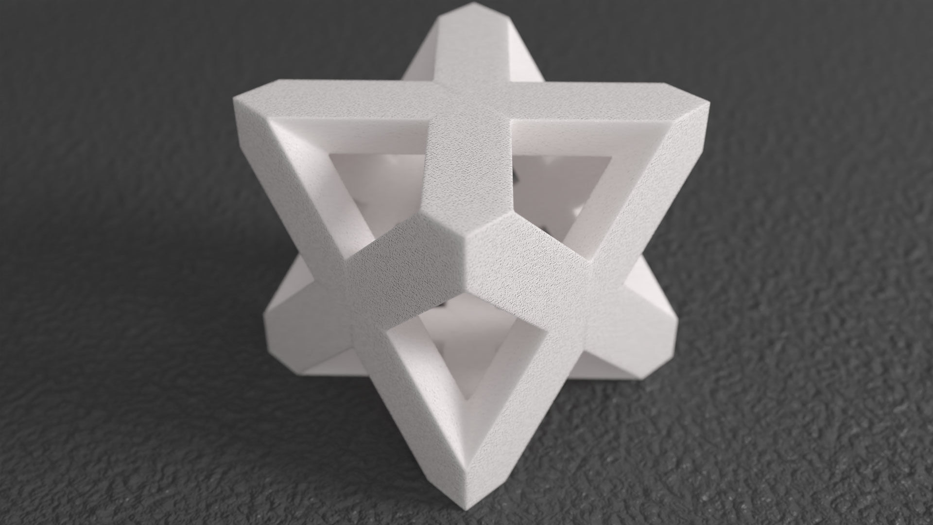 Merkaba Sculpture