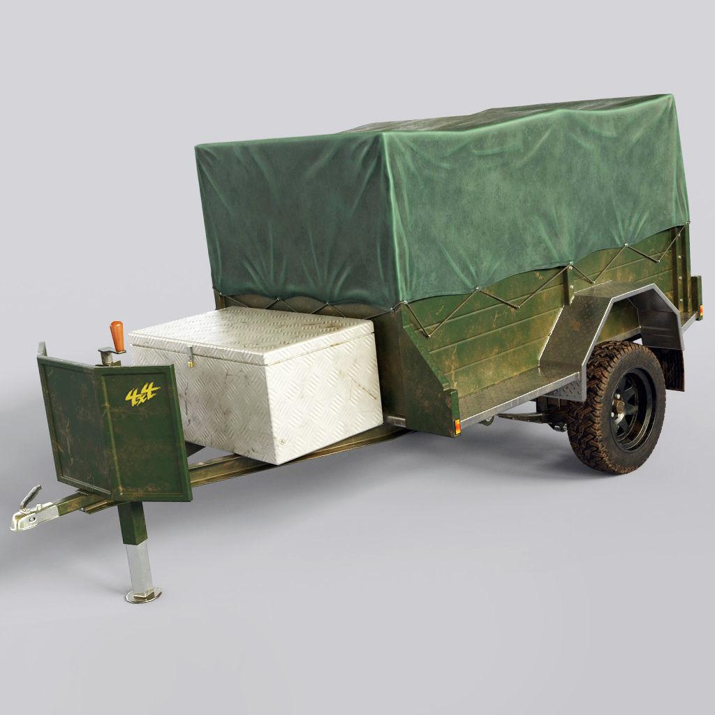 Car Trailer Vehicle Carrier