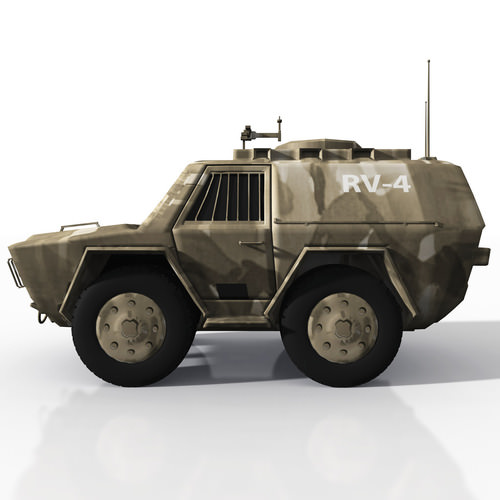 CDF Recon Vehicle3D model