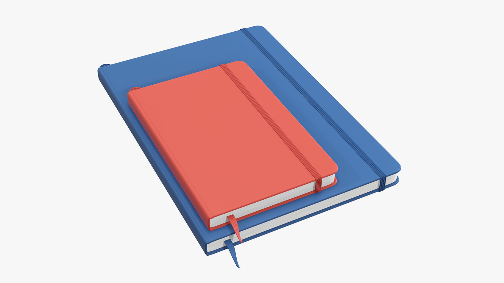 Notebooks hardcover with strap