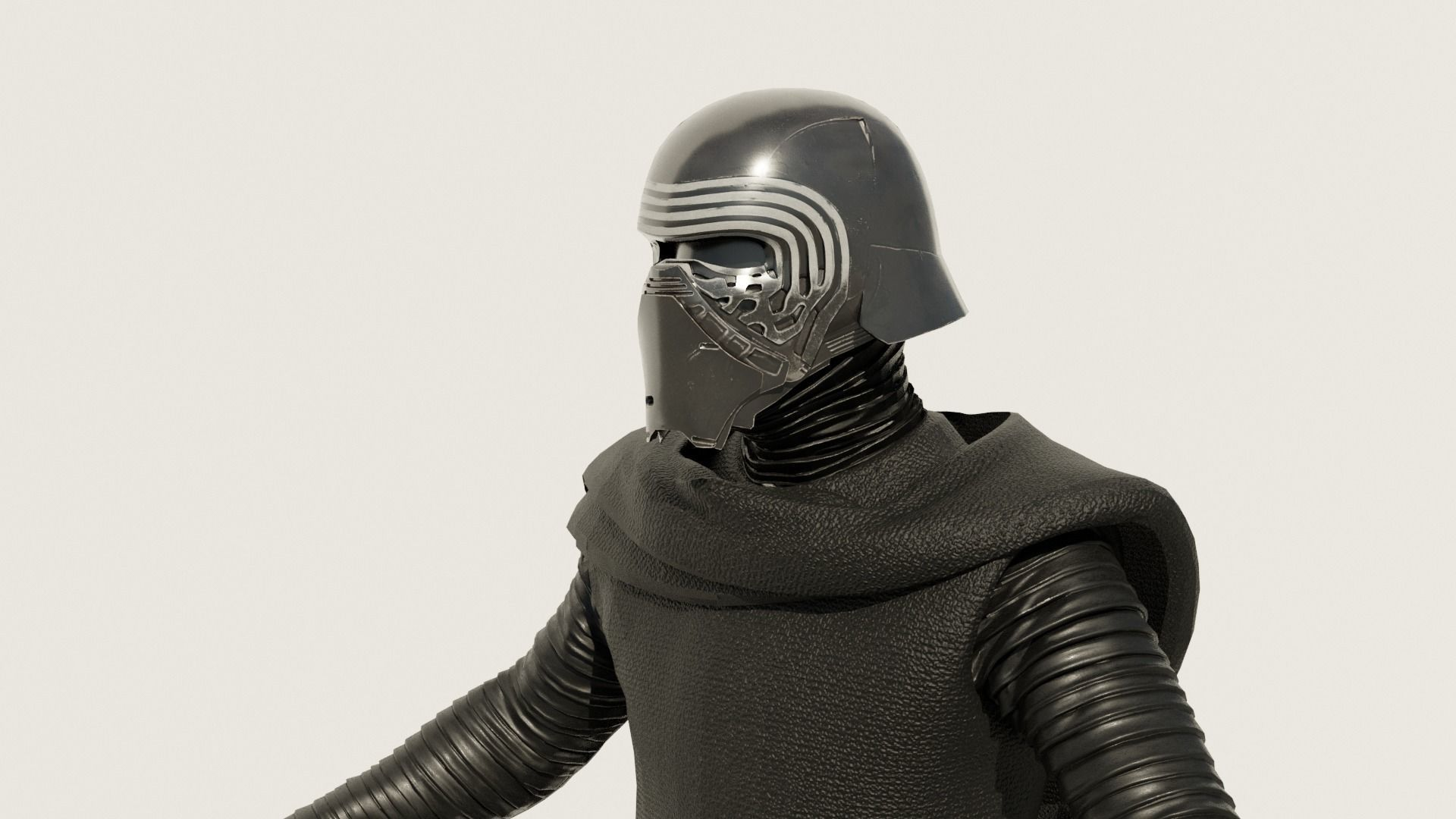 Kylo Ren - Star Wars The Force Awaken 3D Model