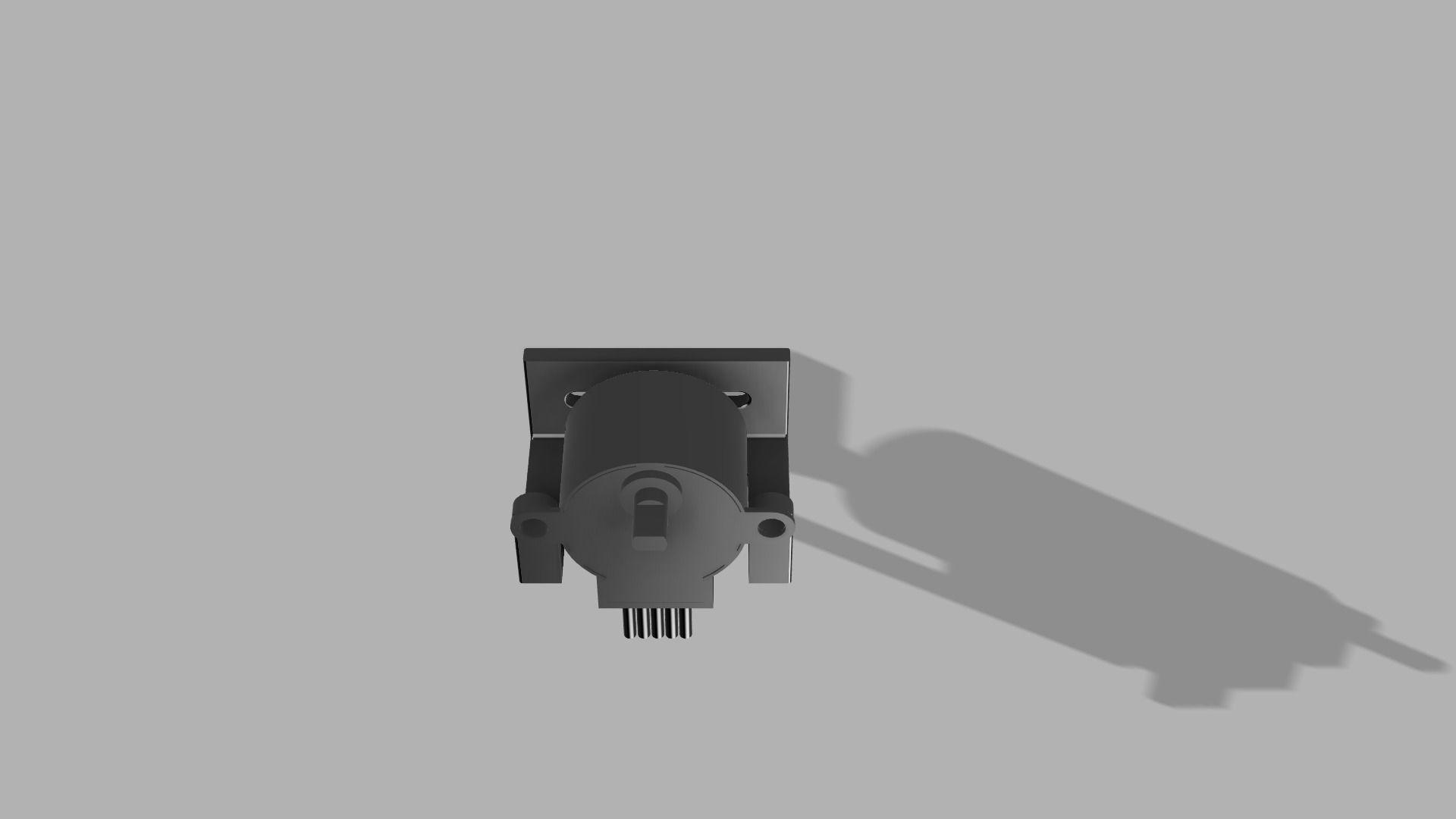 Vertical Mount for 28BYJ-48 5V Stepper Motor