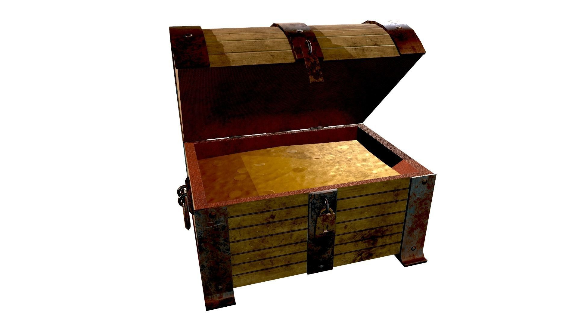 Treasure Chest - Open and Closed - Open Animation