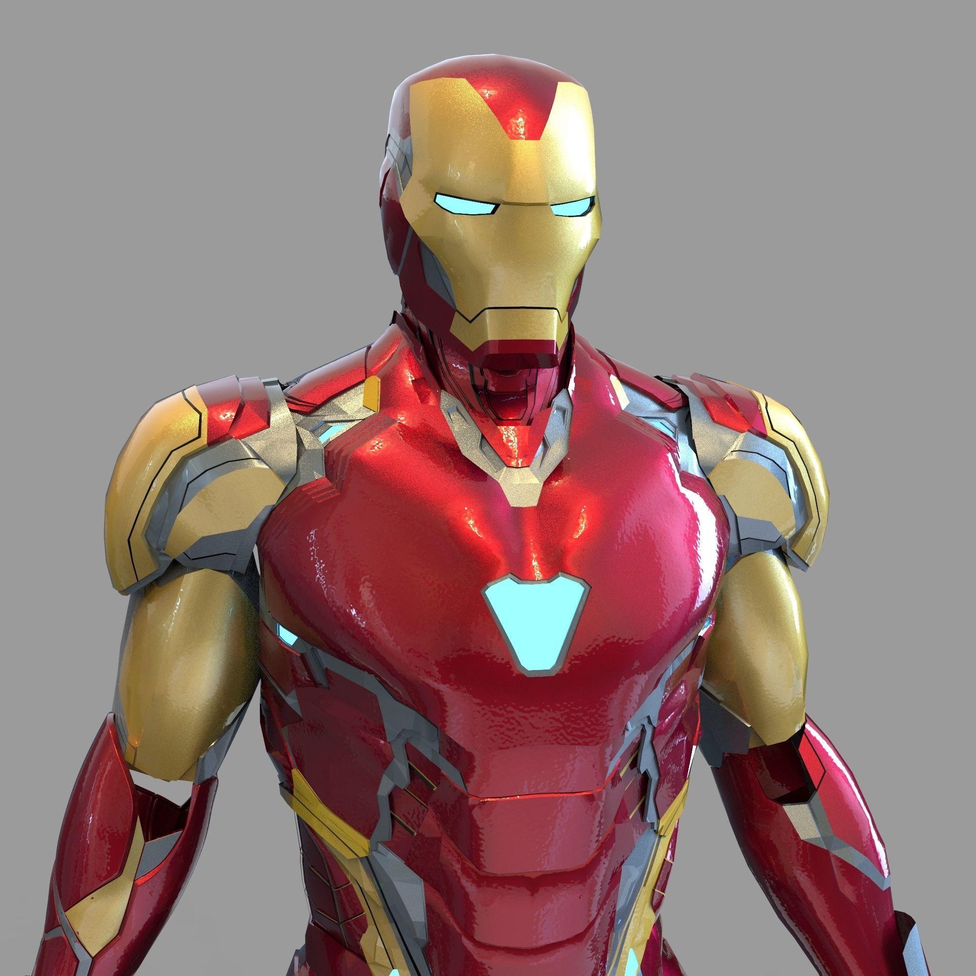Iron Man Mark 85 Wearable Full Armor Endgame Marvel Avengers