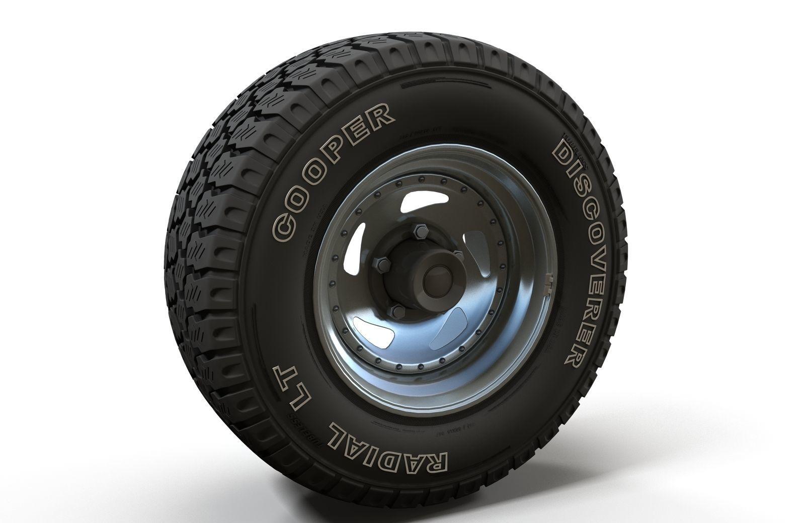 Offroad wheel