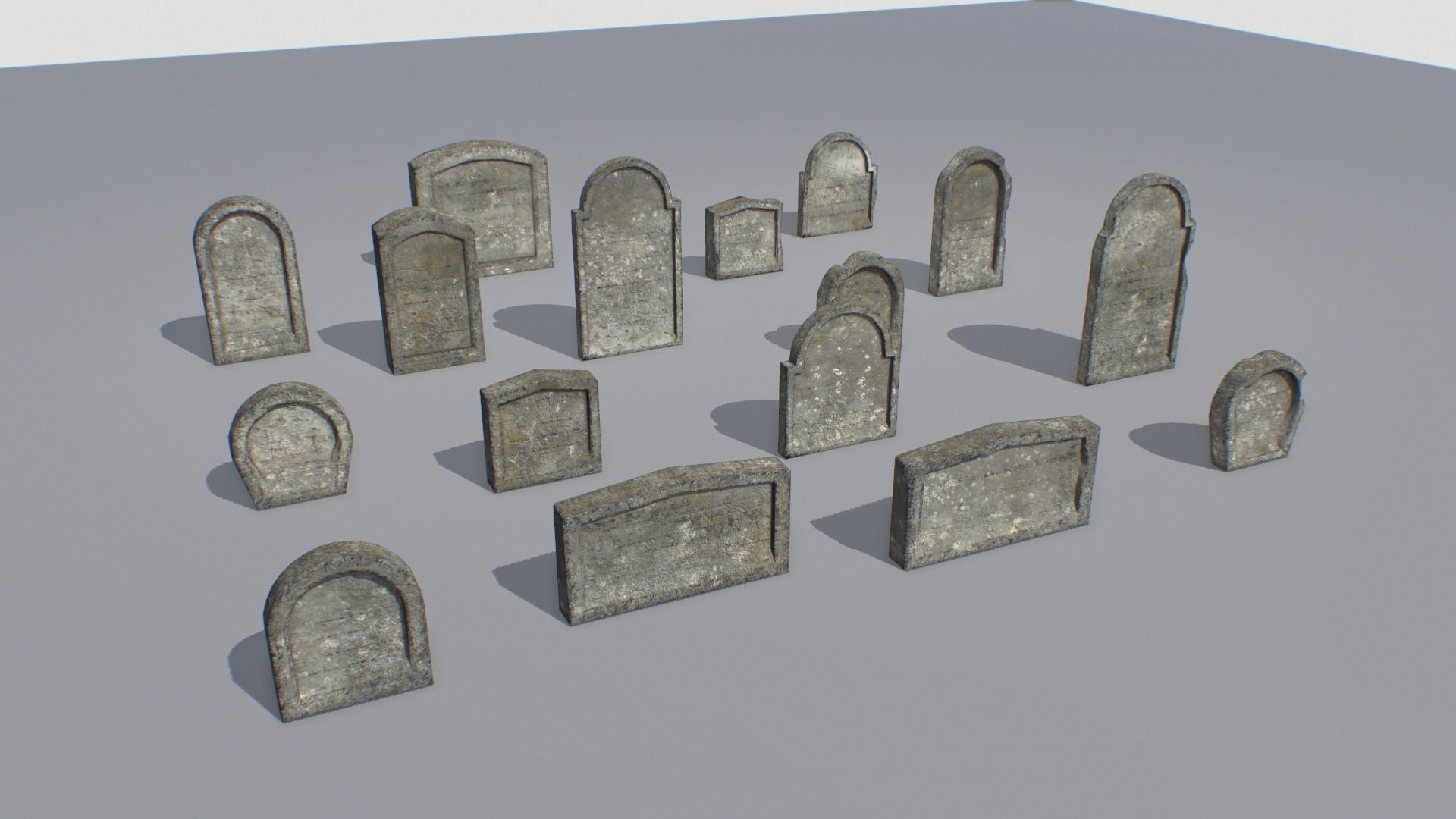 Gravestones pack 2