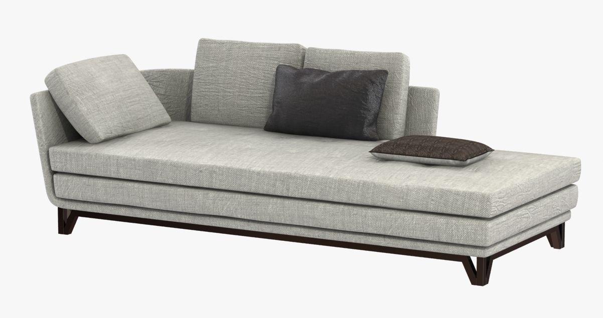 Roche bobois littoral sofa 3d model - Canape littoral roche bobois ...