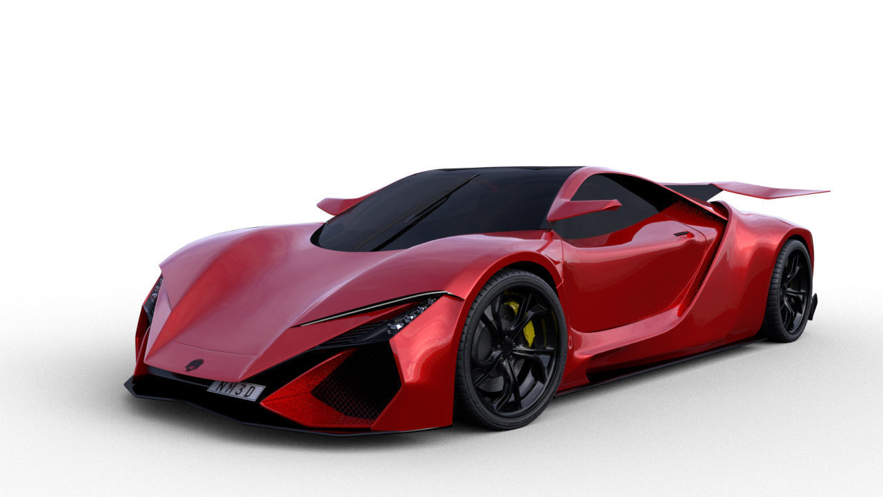Concept 2 Super sport car
