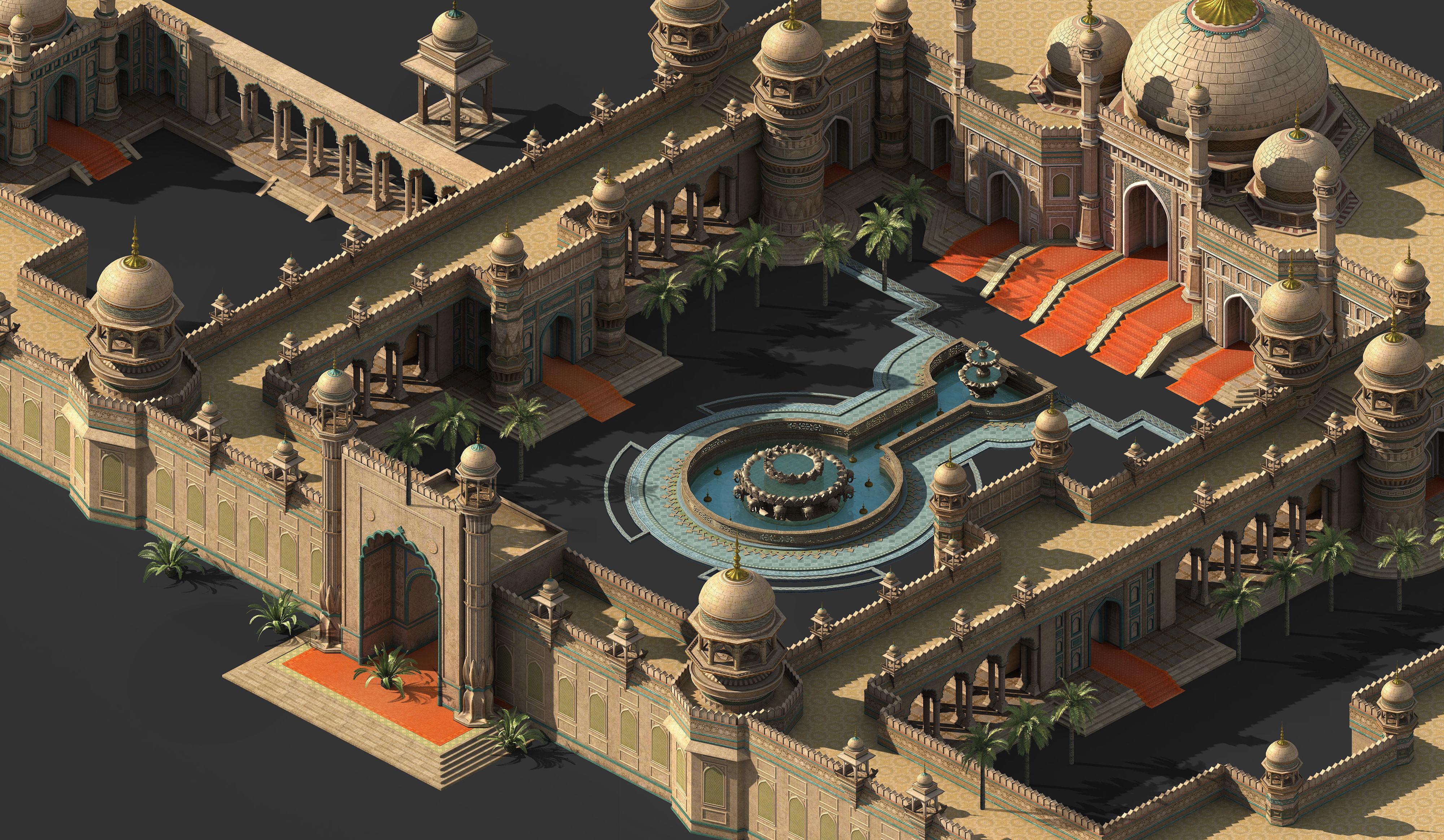 Muslim-Treasure State-Architecture