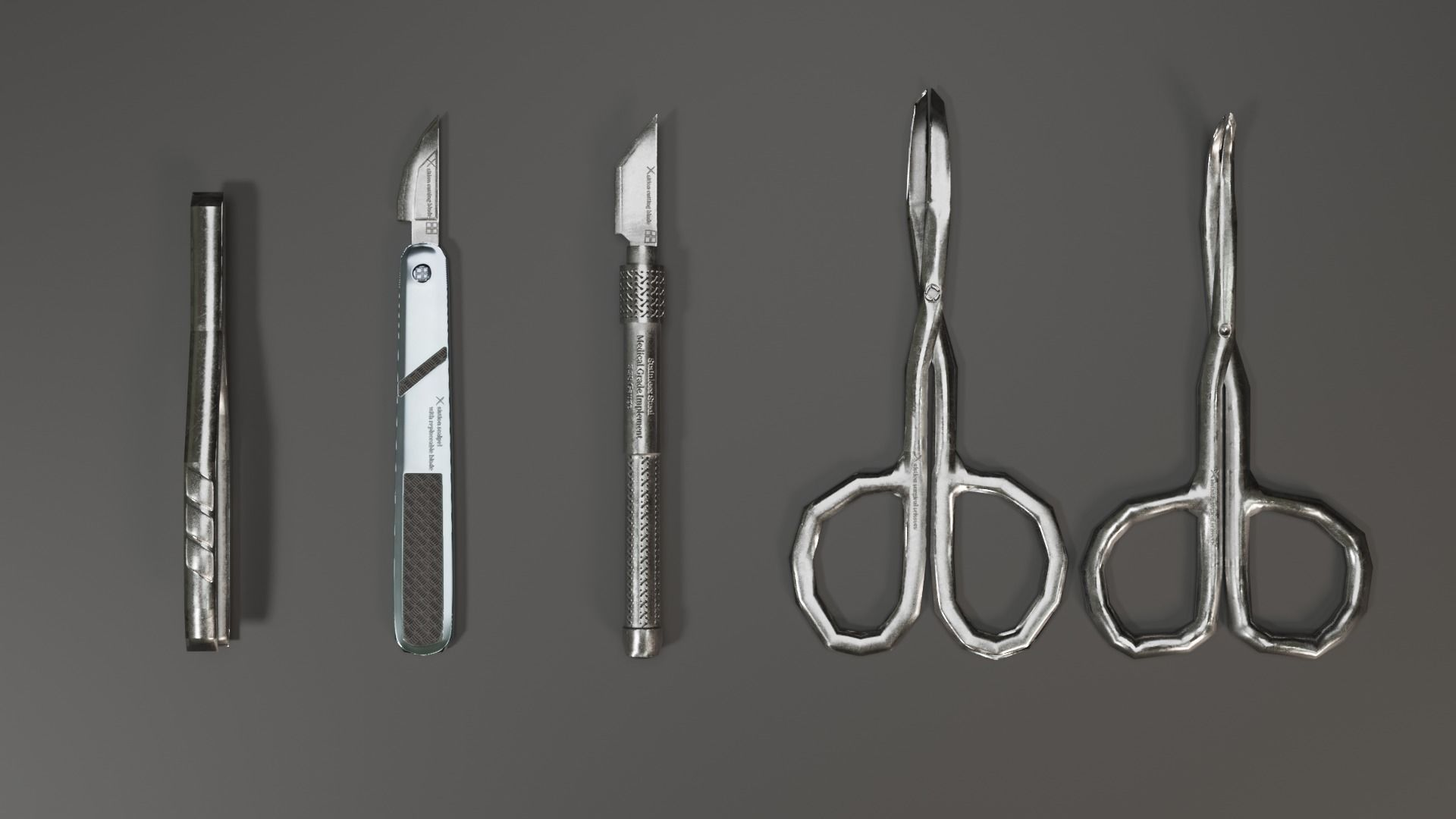 Surgical Tools Set 1