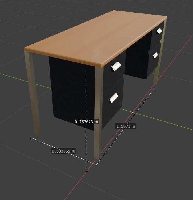 Metal Executive Desk