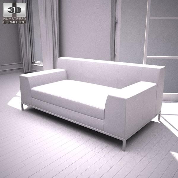 Ikea Kramfors Sofa ~ Ikea kramfors two seat sofa d model game ready max obj